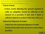 measurement of provisions contd28