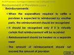 measurement of provisions contd29