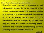 other points regarding applicability contd