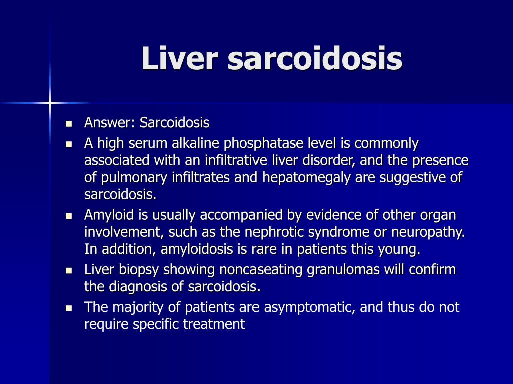 Liver sarcoidosis