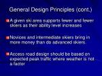 general design principles cont