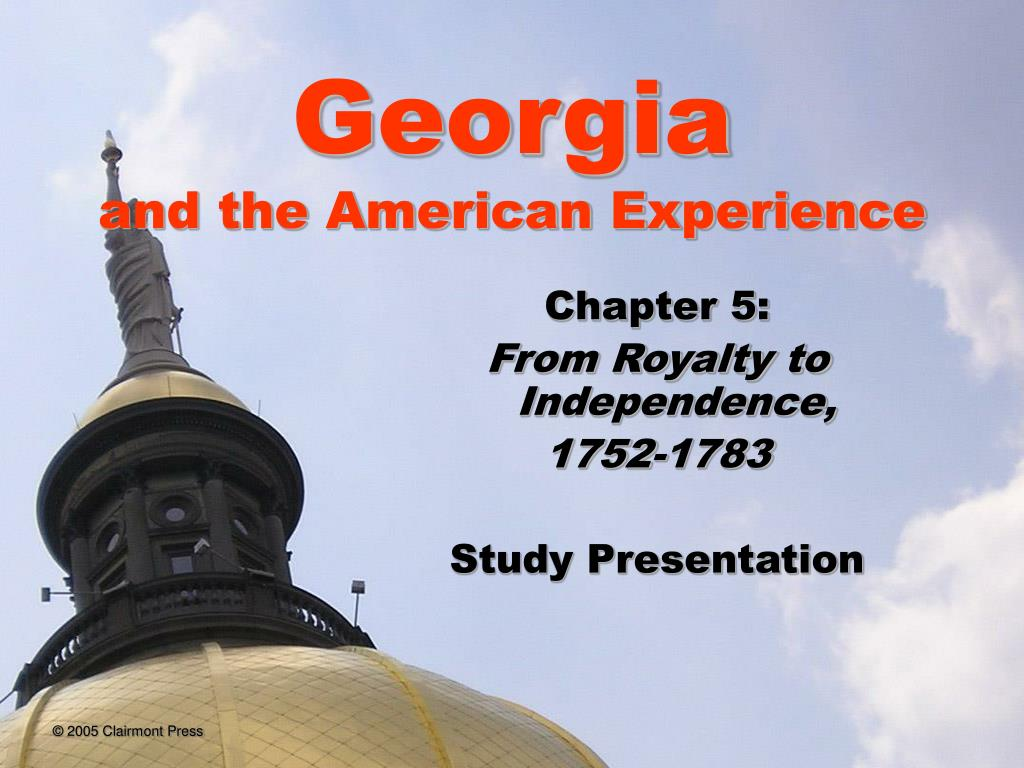 georgia and the american experience l.