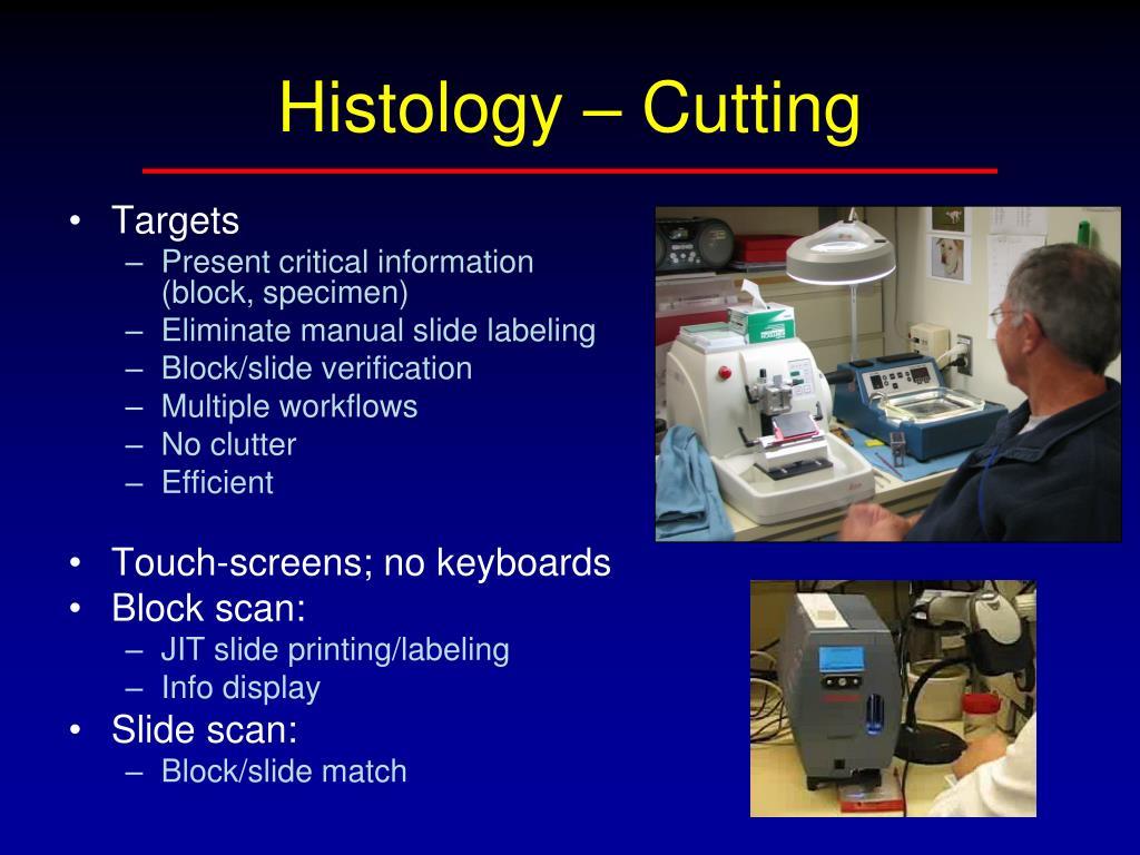 Histology – Cutting