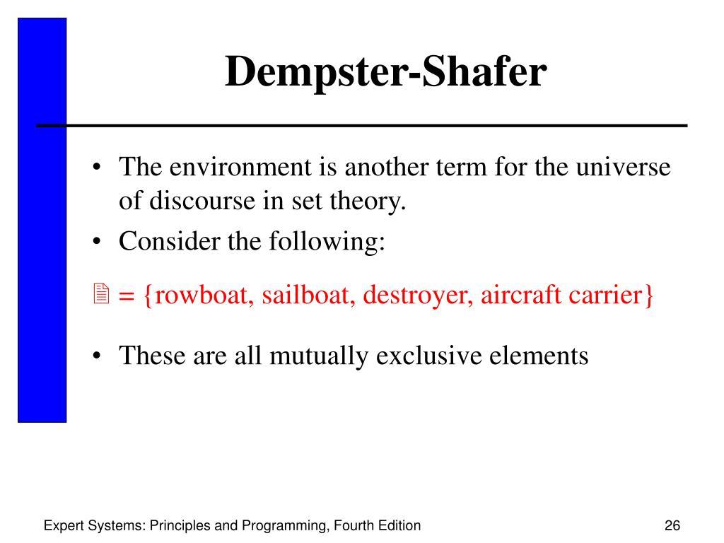Dempster-Shafer