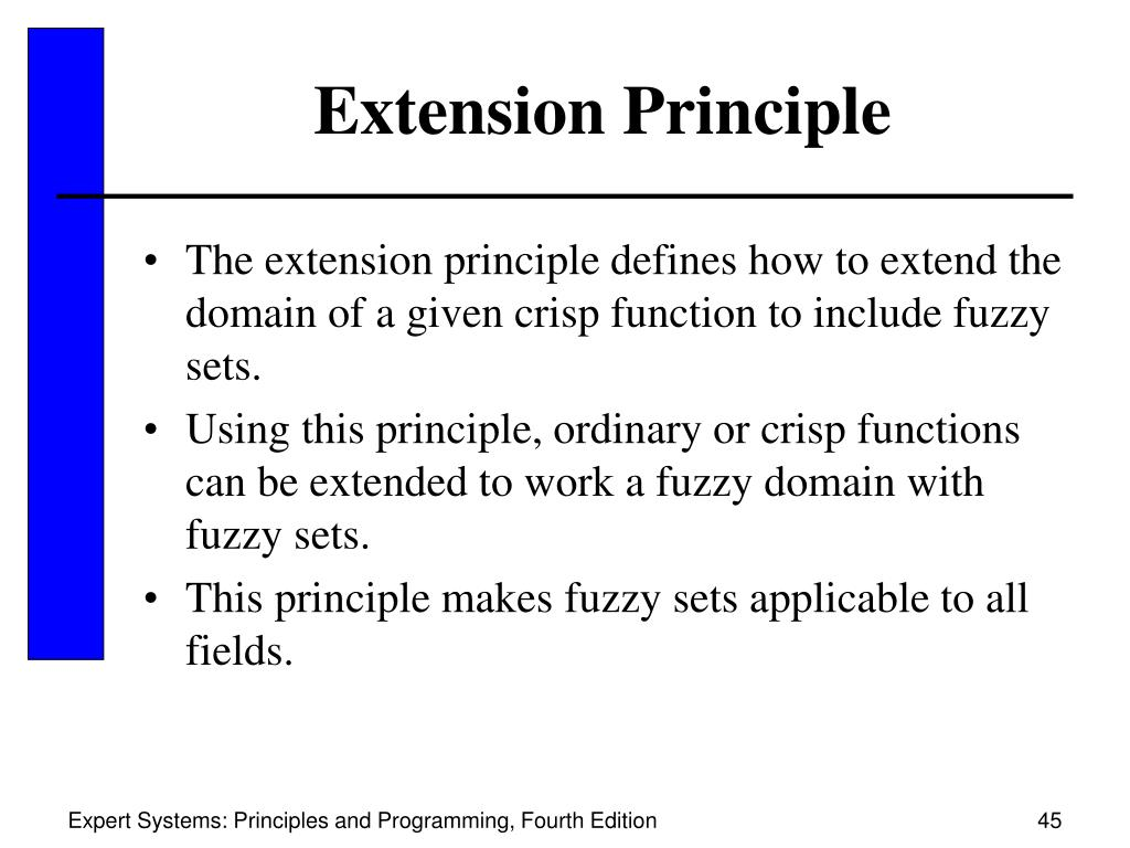 Extension Principle