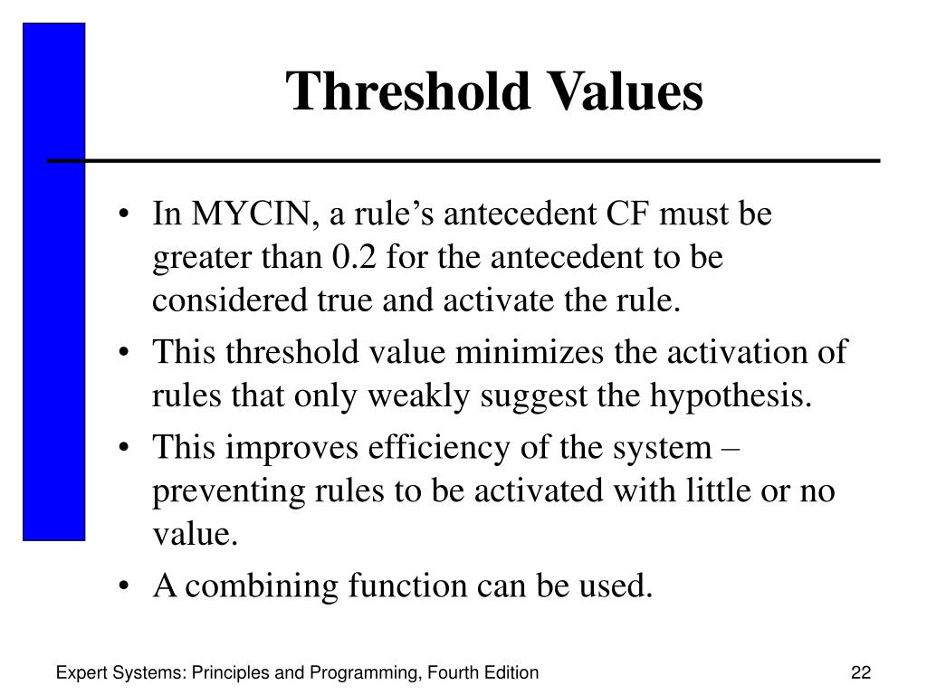 Threshold Values