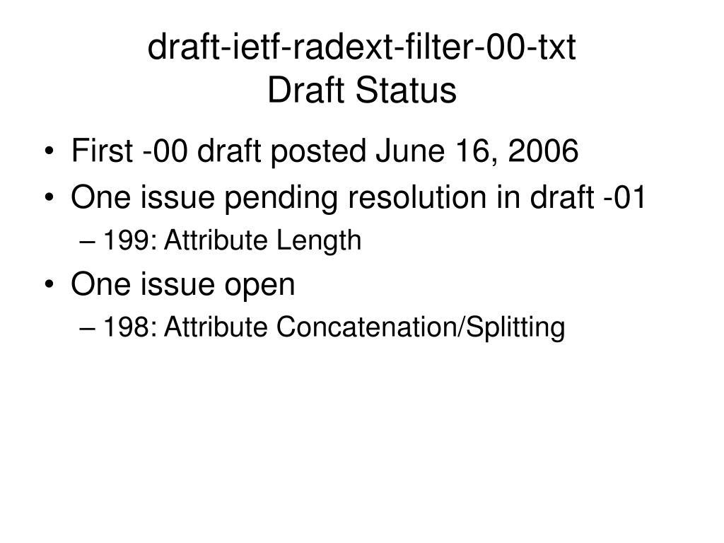 draft-ietf-radext-filter-00-txt