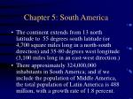 chapter 5 south america80