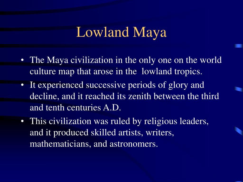 Lowland Maya