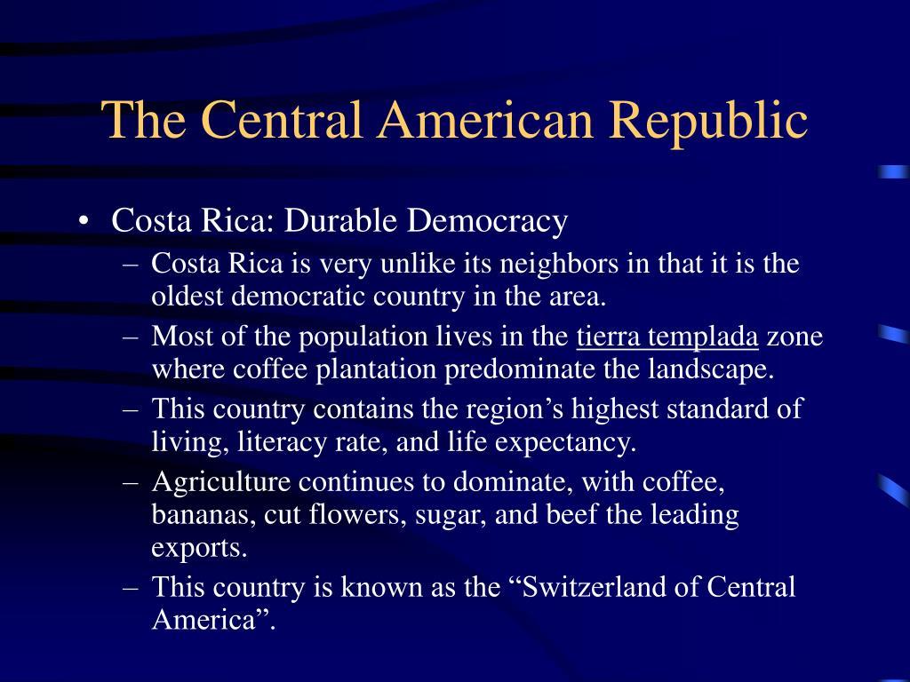 The Central American Republic