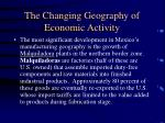 the changing geography of economic activity65