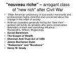 nouveau riche arrogant class of new rich after civil war