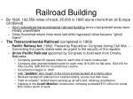 railroad building