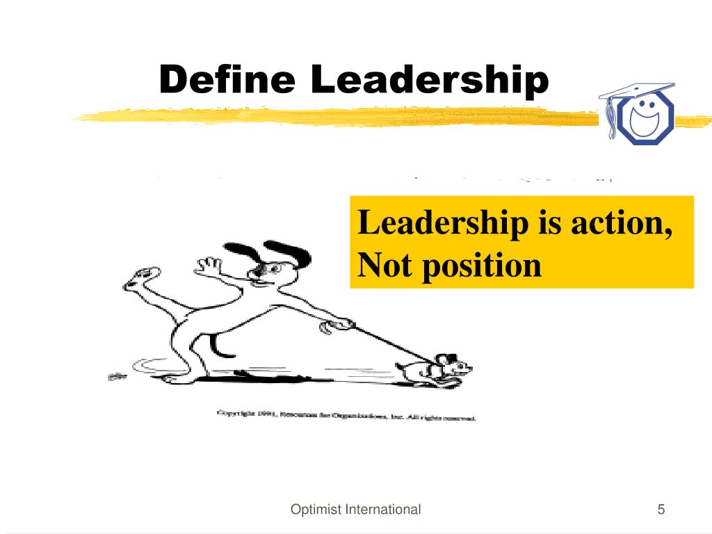 Define Leadership