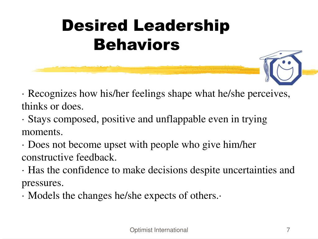 Desired Leadership