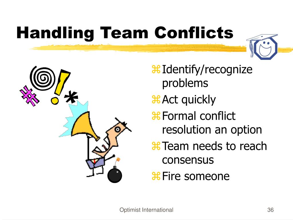 Handling Team Conflicts