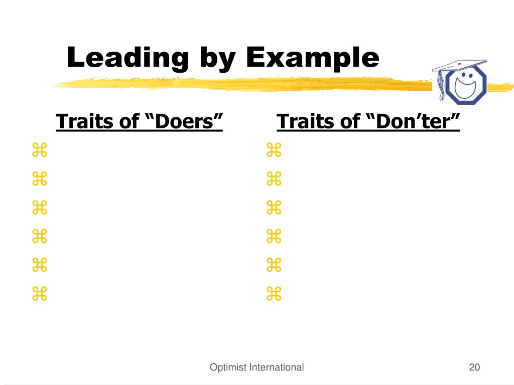 """Traits of """"Doers"""""""