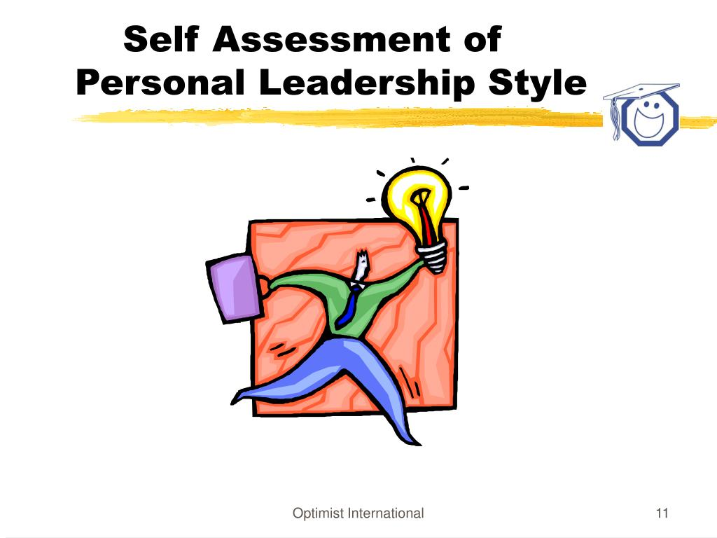 Self Assessment of