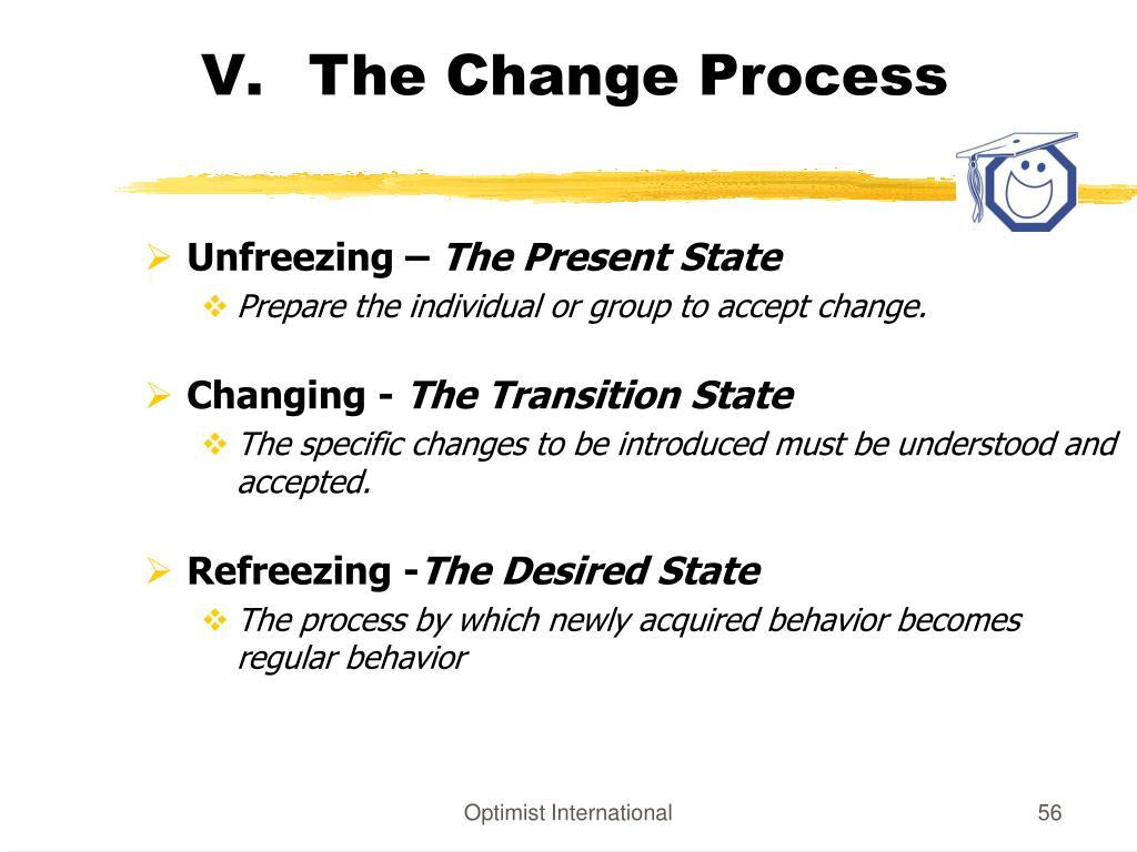 The Change Process