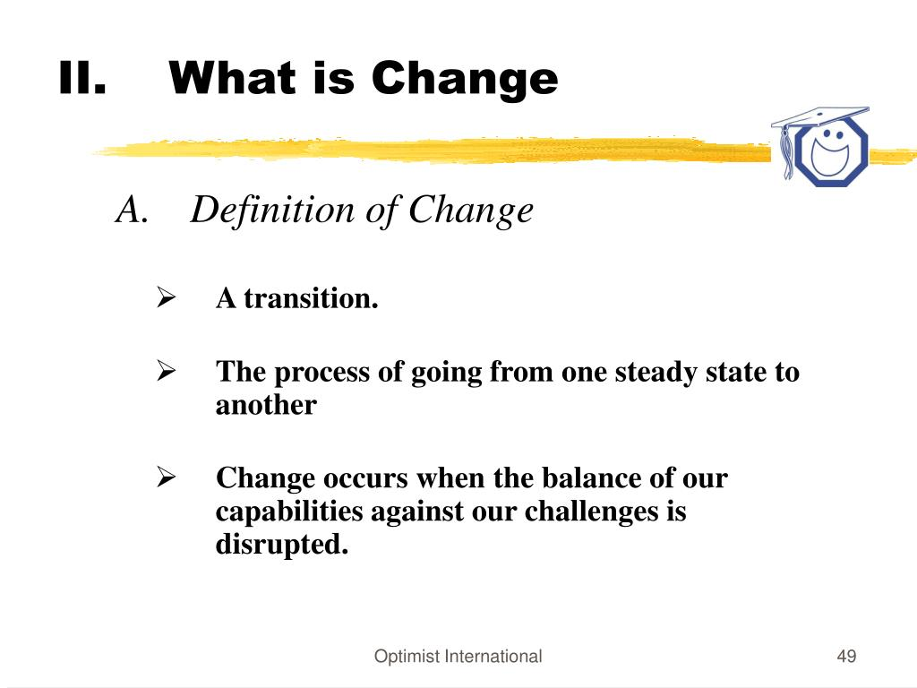 What is Change