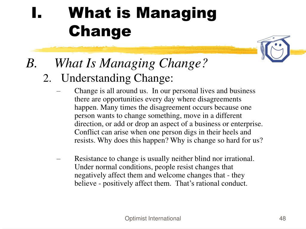 What is Managing Change