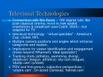televisual technologies