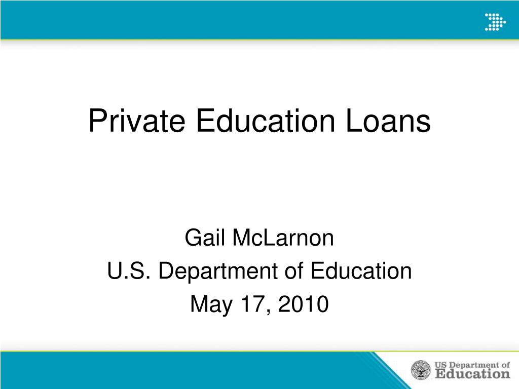 Private Education Loans