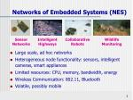 networks of embedded systems nes