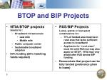 btop and bip projects
