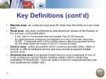 key definitions cont d11