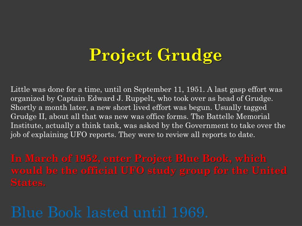 Project Grudge
