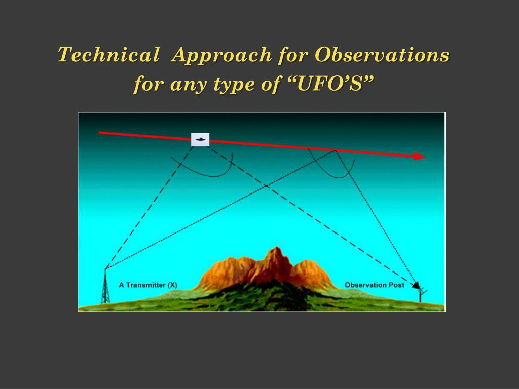 Technical  Approach for Observations