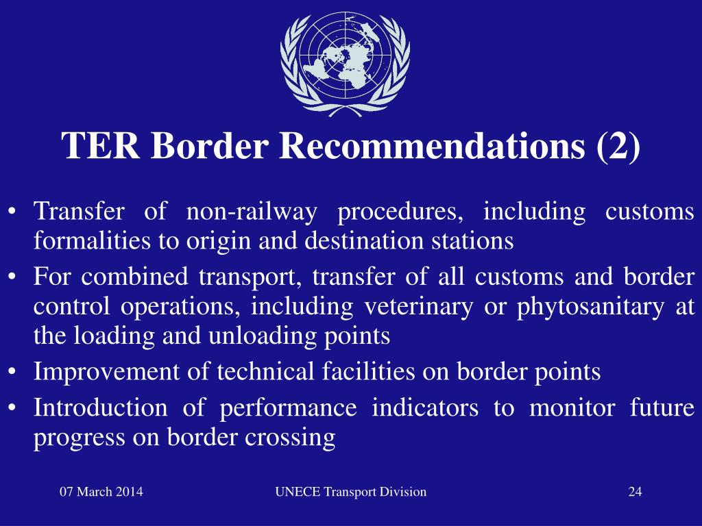 TER Border Recommendations (2)