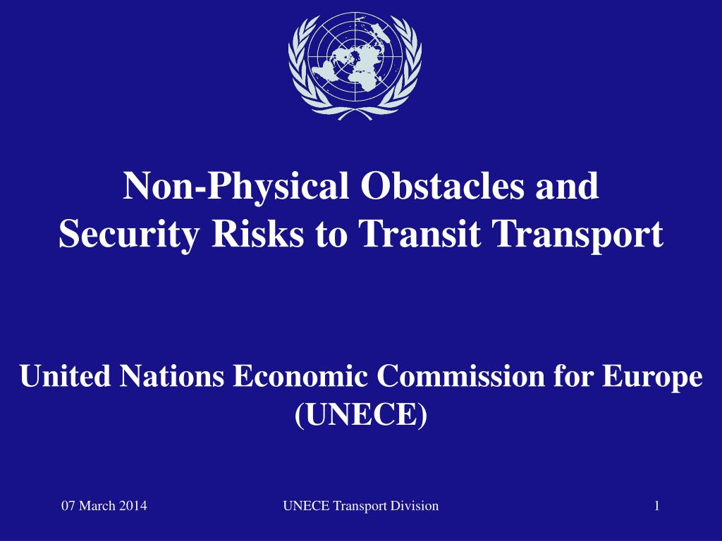 united nations economic commission for europe unece l.
