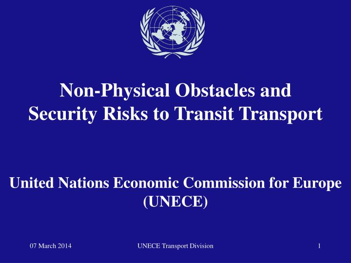 United nations economic commission for europe unece