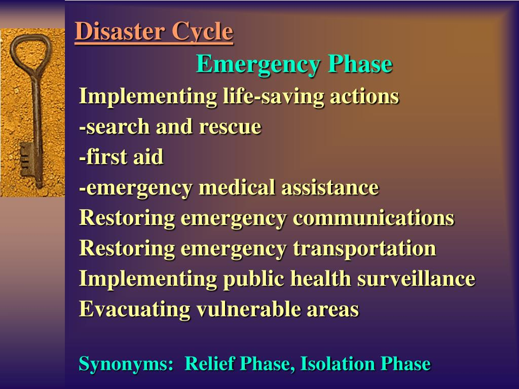 Emergency Phase