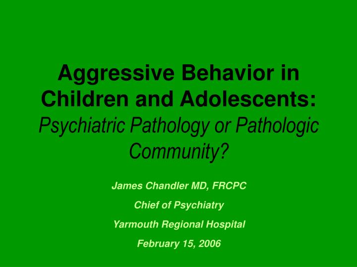 case study of an aggressive adolescent Stress among adolescents that leads to depression will be discussed in this paper stress is defined as a major burden in teenage life and is illustrated on how this can stimulate the development of depression, a more severe case of stress, in which teenagers become overwhelmed with a mix of.