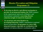 disaster prevention and mitigation programme 2