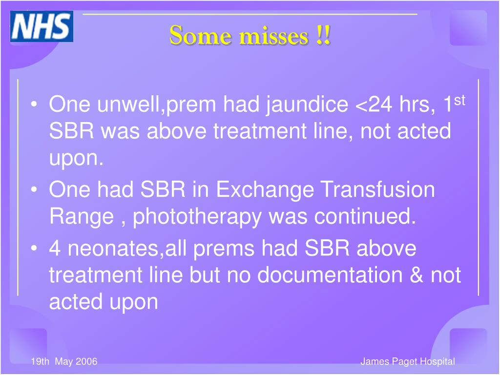 One unwell,prem had jaundice <24 hrs, 1