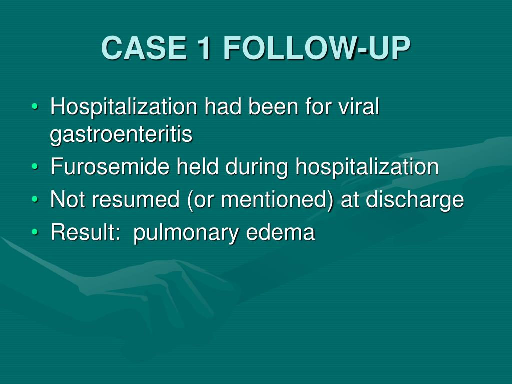CASE 1 FOLLOW-UP