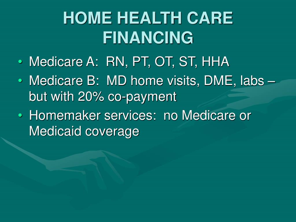 HOME HEALTH CARE FINANCING