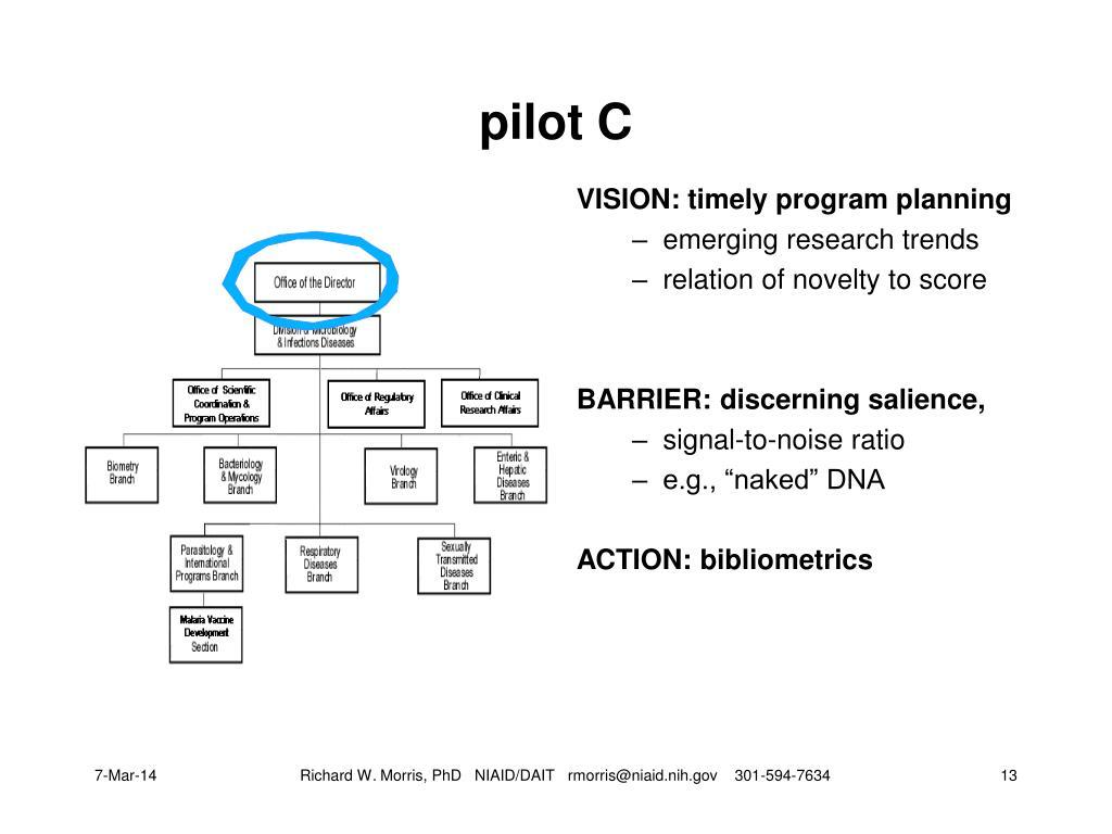 pilot C