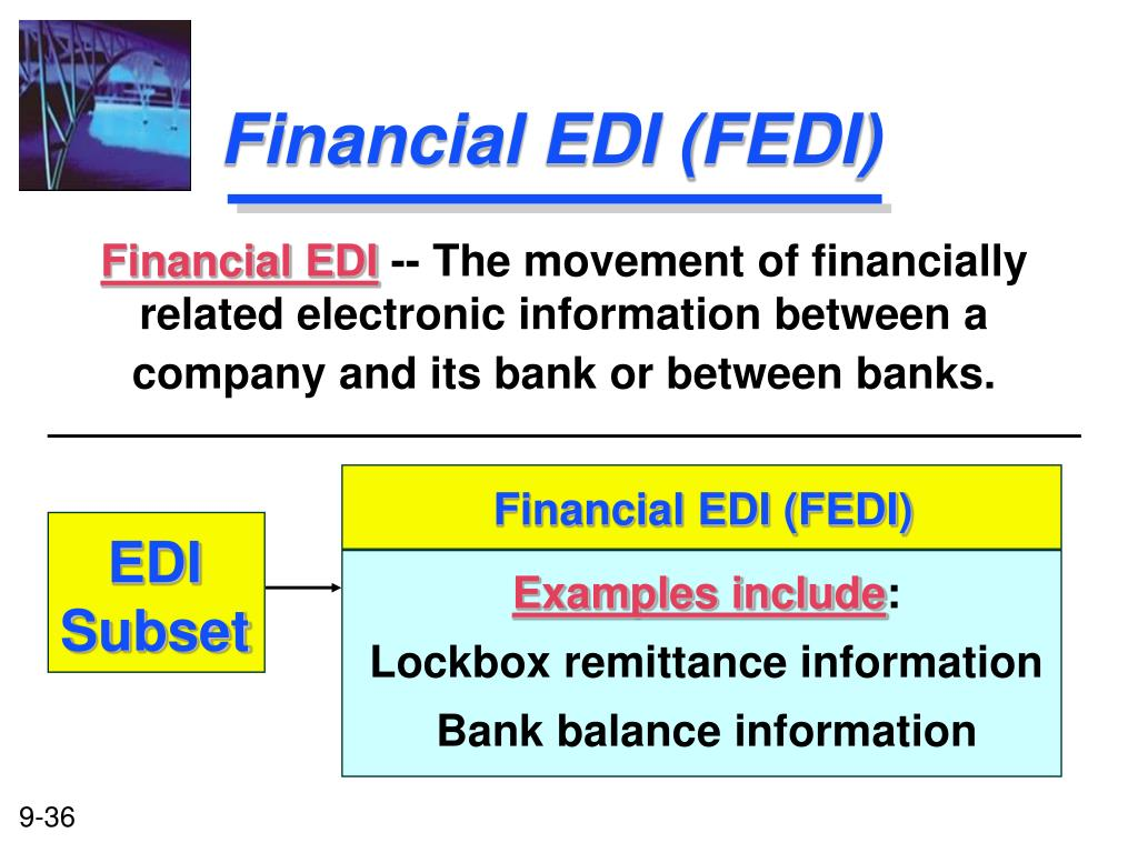 Financial EDI (FEDI)