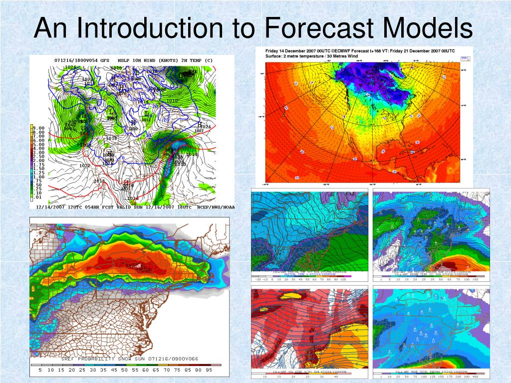 an introduction to forecast models