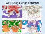 gfs long range forecast