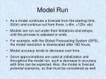 model run26