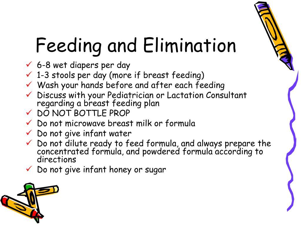 Feeding and Elimination