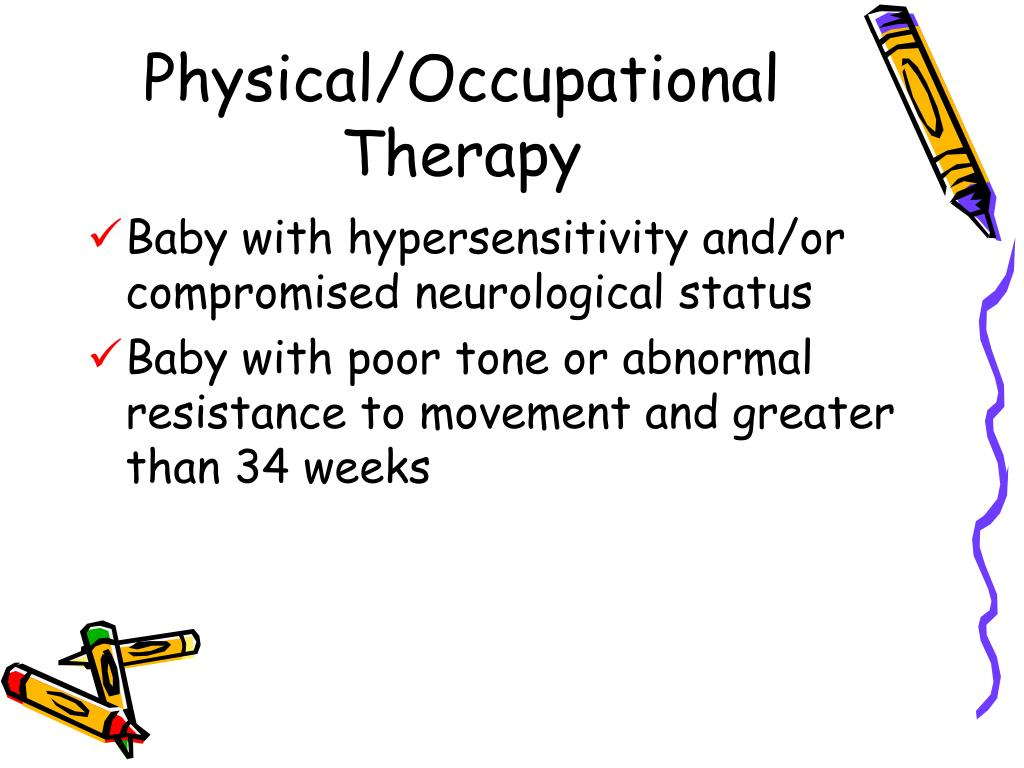 Physical/Occupational Therapy