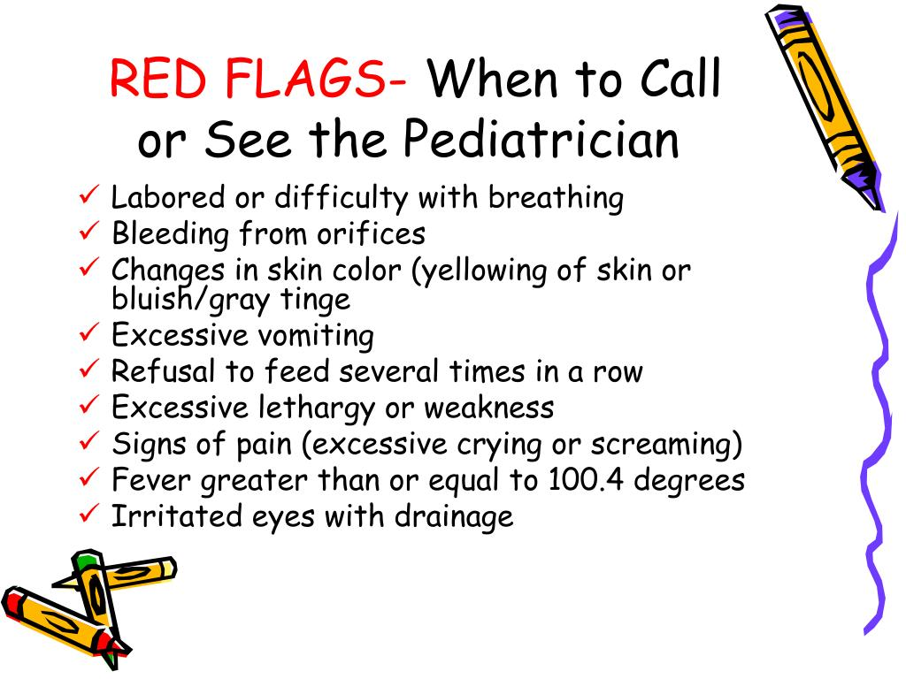 RED FLAGS-