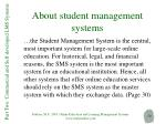 about student management systems